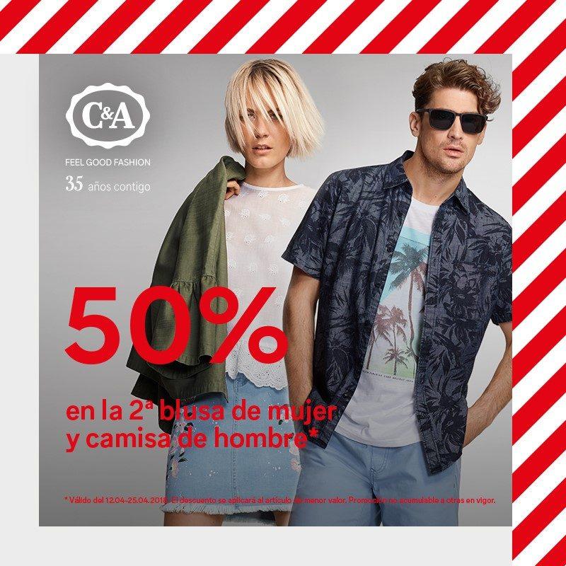 Amazonas diseños atractivos gran selección de 2019 Descuentos en blusas de hombre y mujer en C&A – Centro ...